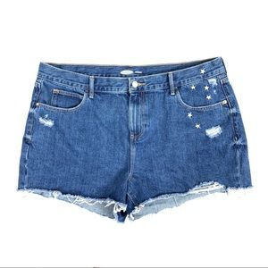 Old Navy Boyfriend Jean Shorts size 16